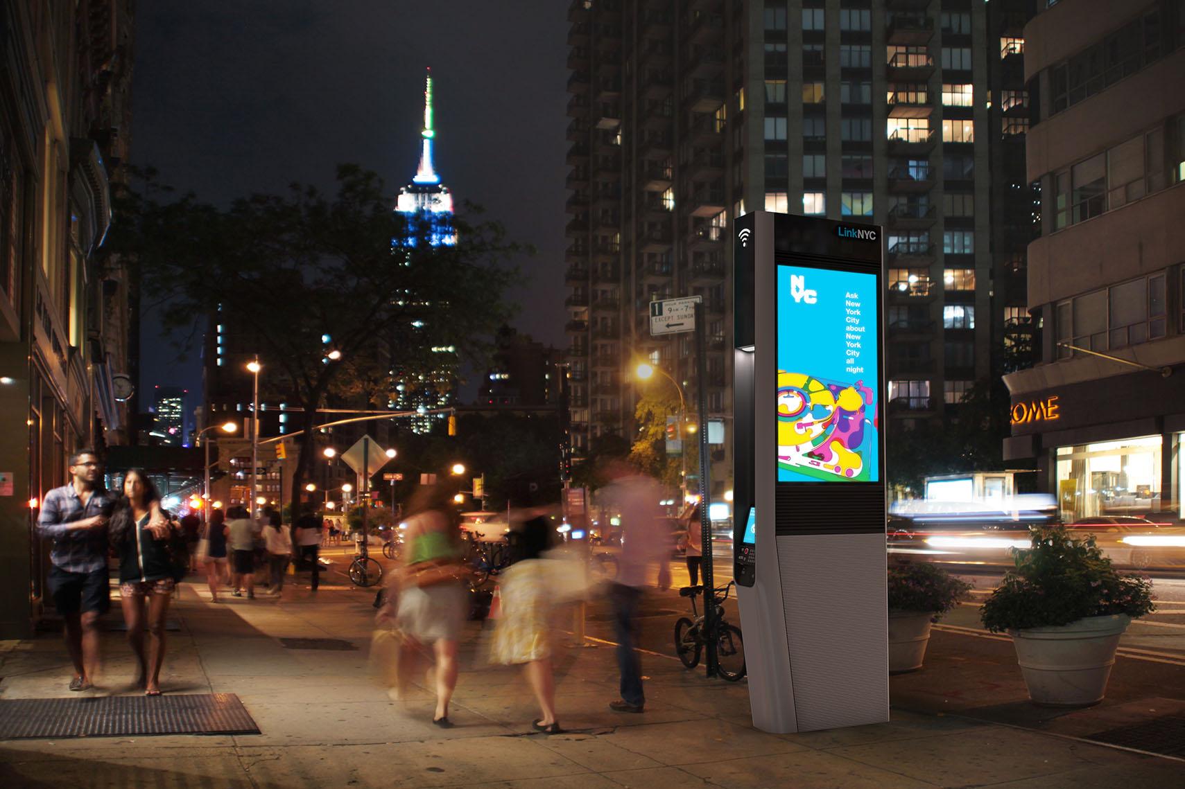 ニューヨーク NY Wi-Fi 公衆